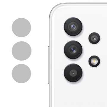 Стекло на камеру гибкое Samsung Galaxy A32 2021 (A325) (Черное)