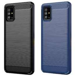 Бампер для Samsung Galaxy A51 2020 (A515) Carbon