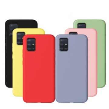 Силиконовая накладка для Samsung Galaxy M31 (M315) Soft