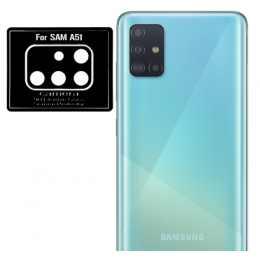 Стекло для камеры гибкое Samsung Galaxy A51 2020 (A515) (Черное)