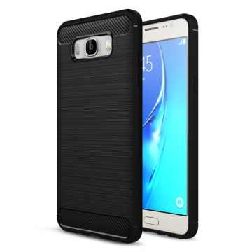 Накладка для Samsung J710 Galaxy J7 2016 Carbon