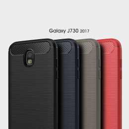 Накладка для Samsung J730 Galaxy J7 2017 Carbon