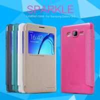 Чехол (книжка) для Samsung Galaxy On7 Nillkin Sparkle