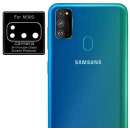Стекло для камеры гибкое Samsung Galaxy M30s (M307) (Черное)