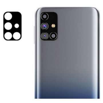 Стекло на камеру гибкое Samsung Galaxy M31s (M317) (Черное)