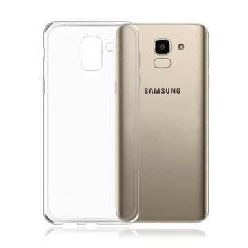 Силиконовый чехол для Samsung Galaxy A6+ 2018 (A605) Slim
