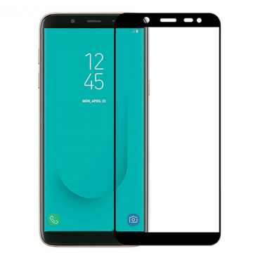 Защитное стекло для Samsung Galaxy J4 Plus 2018 (J415) (на весь экран)