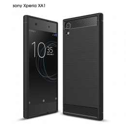 Бампер для Sony Xperia XA1 Carbon