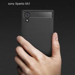 Накладка для Sony Xperia XA1 Carbon