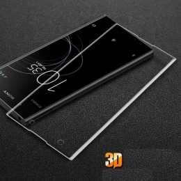 Защитное стекло для Sony Xperia XA1 (на весь экран) 3D Transparent