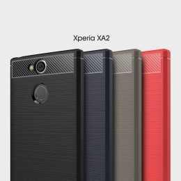 Накладка для Sony Xperia XA2 Carbon