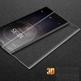 Защитное стекло для Sony Xperia XA2 (на весь экран) 3D Transparent
