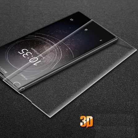 3D Cтекло Sony Xperia XA2 (закруглённое) Transparent