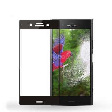 3D Стекло Sony Xperia XZ1 с рамкой