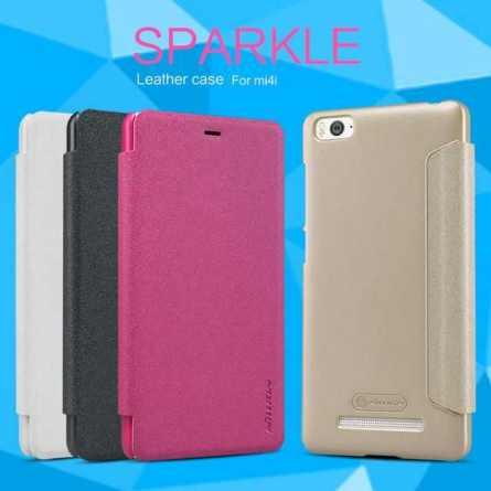 Чехол (книжка) для Xiaomi Mi 4i Nillkin Sparkle