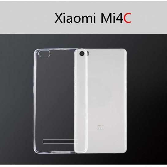 Силиконовый чехол для Xiaomi Mi4с Slim