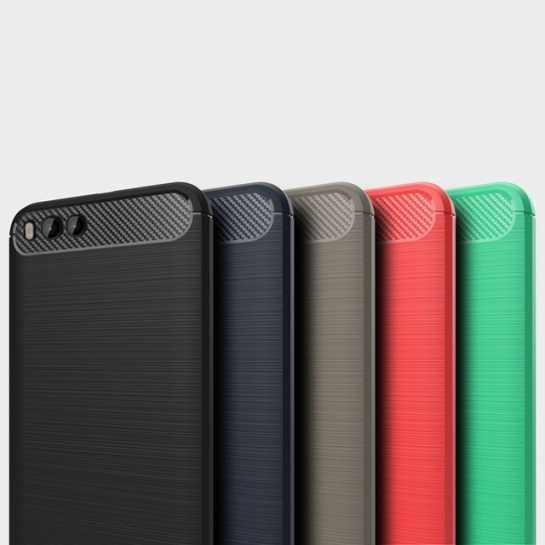 Бампер для Xiaomi Mi6 Carbon