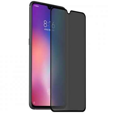 5D Стекло для Xiaomi Redmi 9t Privacy Анти-шпион
