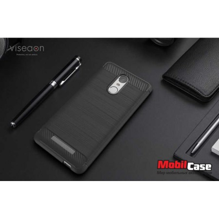 Накладка для Xiaomi Redmi Note 3 Carbon