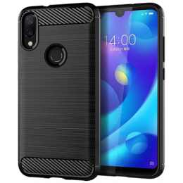 Бампер для Xiaomi Redmi Note 7 Carbon