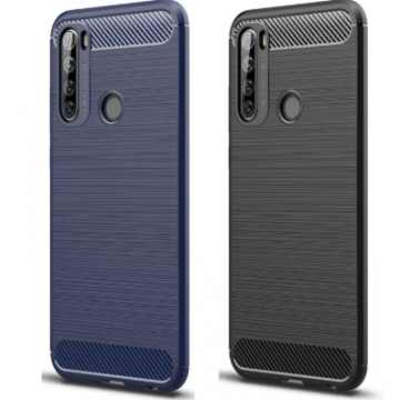 Бампер для Xiaomi Redmi Note 8T Carbon